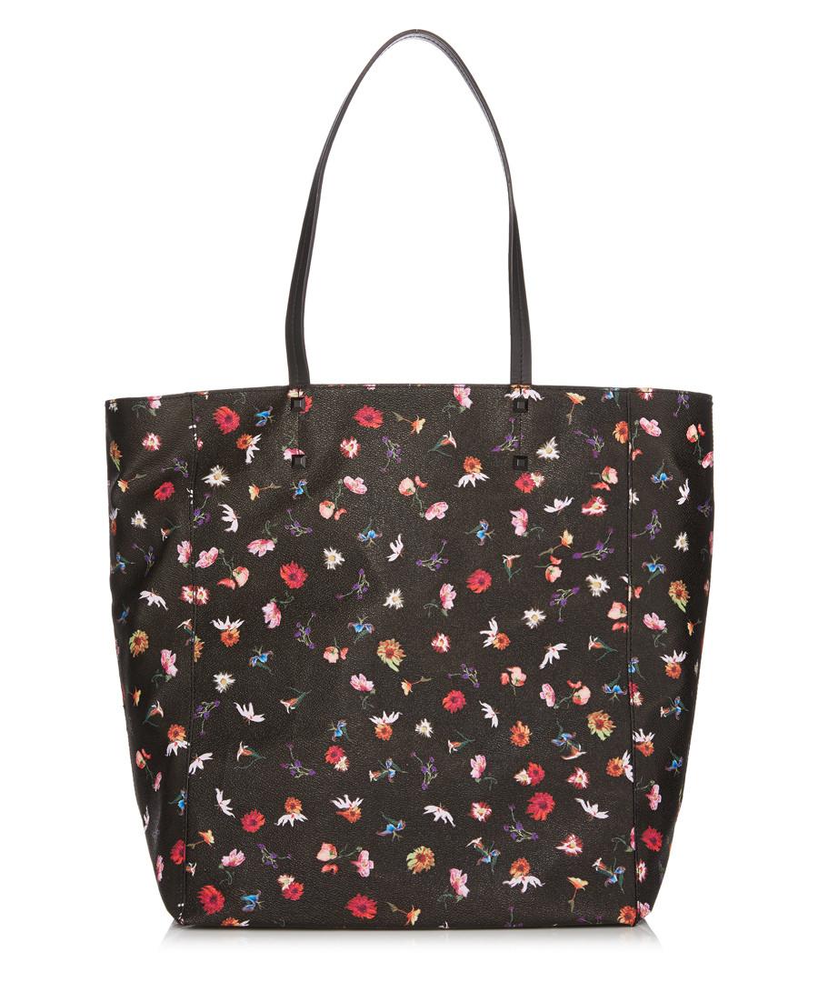 Leila black floral print shoulder bag Sale - REBECCA MINKOFF