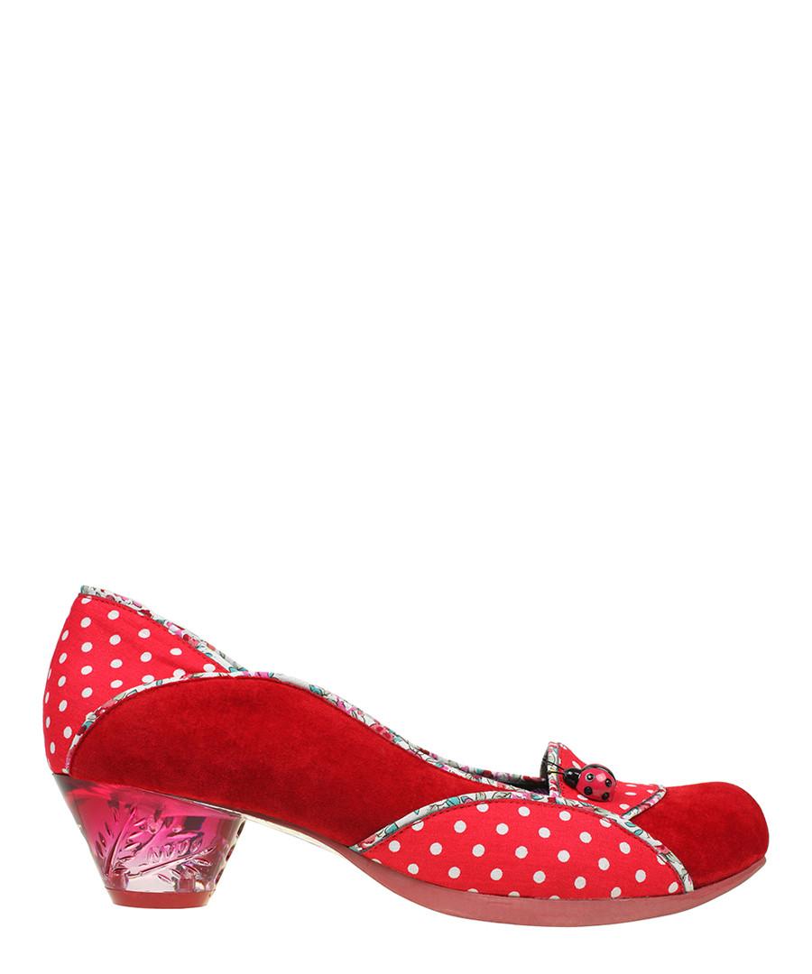 99032bb3d21 Discount Ladybug red low heel shoes | SECRETSALES