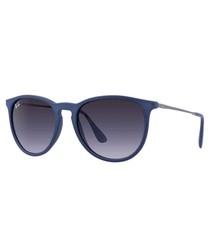 Erika blue medium tint sunglasses