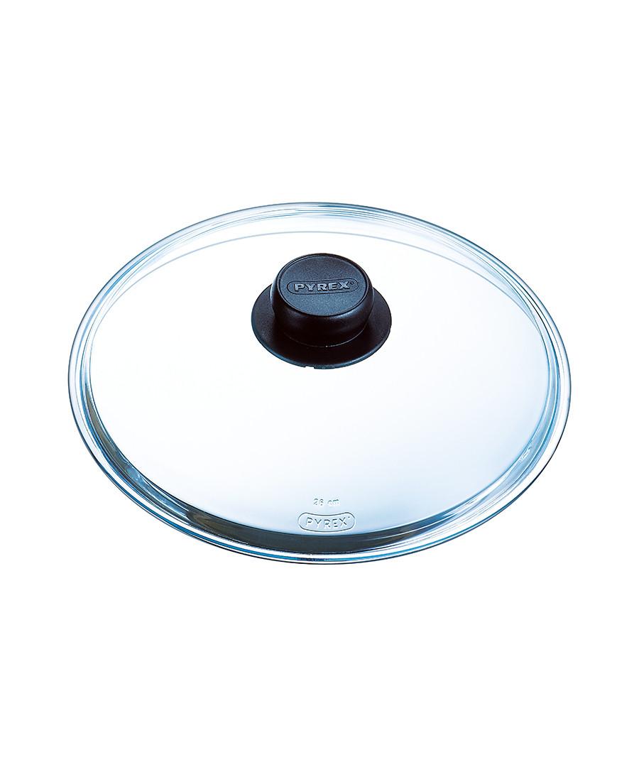 Clear glass saucepan lid 26cm Sale - pyrex