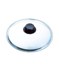 Clear glass saucepan lid 26cm