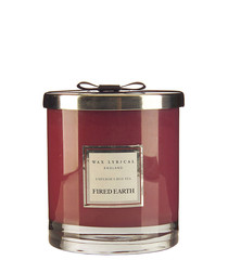 Emperors red tea twin wick candle
