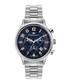 Métropolitain silver-tone & blue watch Sale - mathieu legrand Sale