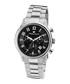 Métropolitain silver-tone & black watch Sale - mathieu legrand Sale