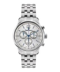 Classique silver-tone steel watch