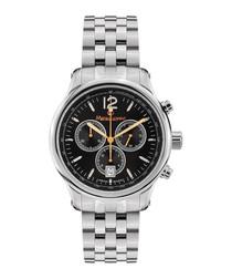 Classique silver-tone & black watch