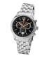 Classique silver-tone & black watch Sale - mathieu legrand Sale
