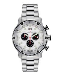 Tableau du Bord silver-tone watch