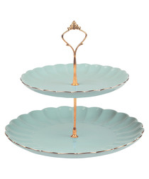 Image of Belle duck egg cake stand