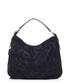 Black leather floral shoulder bag Sale - anna morellini Sale