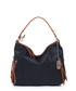 Black & tan leather detail shoulder bag Sale - anna morellini Sale