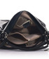 Black leather twin-strap shoulder bag Sale - anna morellini Sale