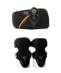 Women's Abs S7 belt & arm bundle & pads