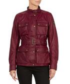 Women's Roadmaster red cotton jacket