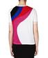 White pure cotton wave T-shirt Sale - alexander mcqueen Sale
