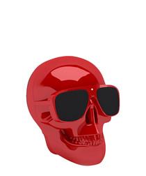 Image of AeroSkull Nano glossy red speaker