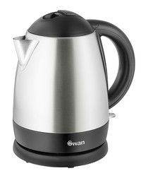 Image of Polished steel cordless kettle 1L