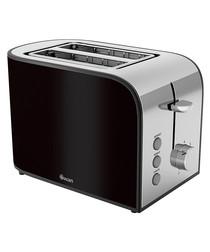 Image of Black 2-slice toaster