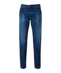 Darron dark blue jeans
