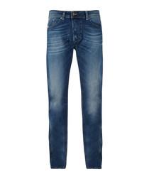 Darron blue fade-effect jeans
