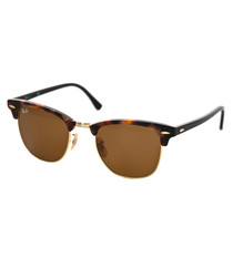 Clubmaster brown & Havana sunglasses