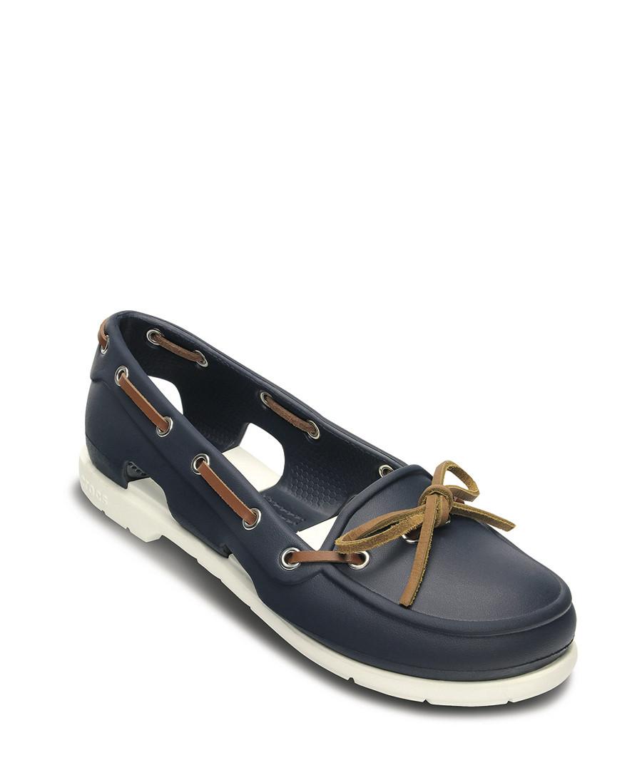 Crocs Beach Line Boat Shoe Men Images Hombre Zapatos