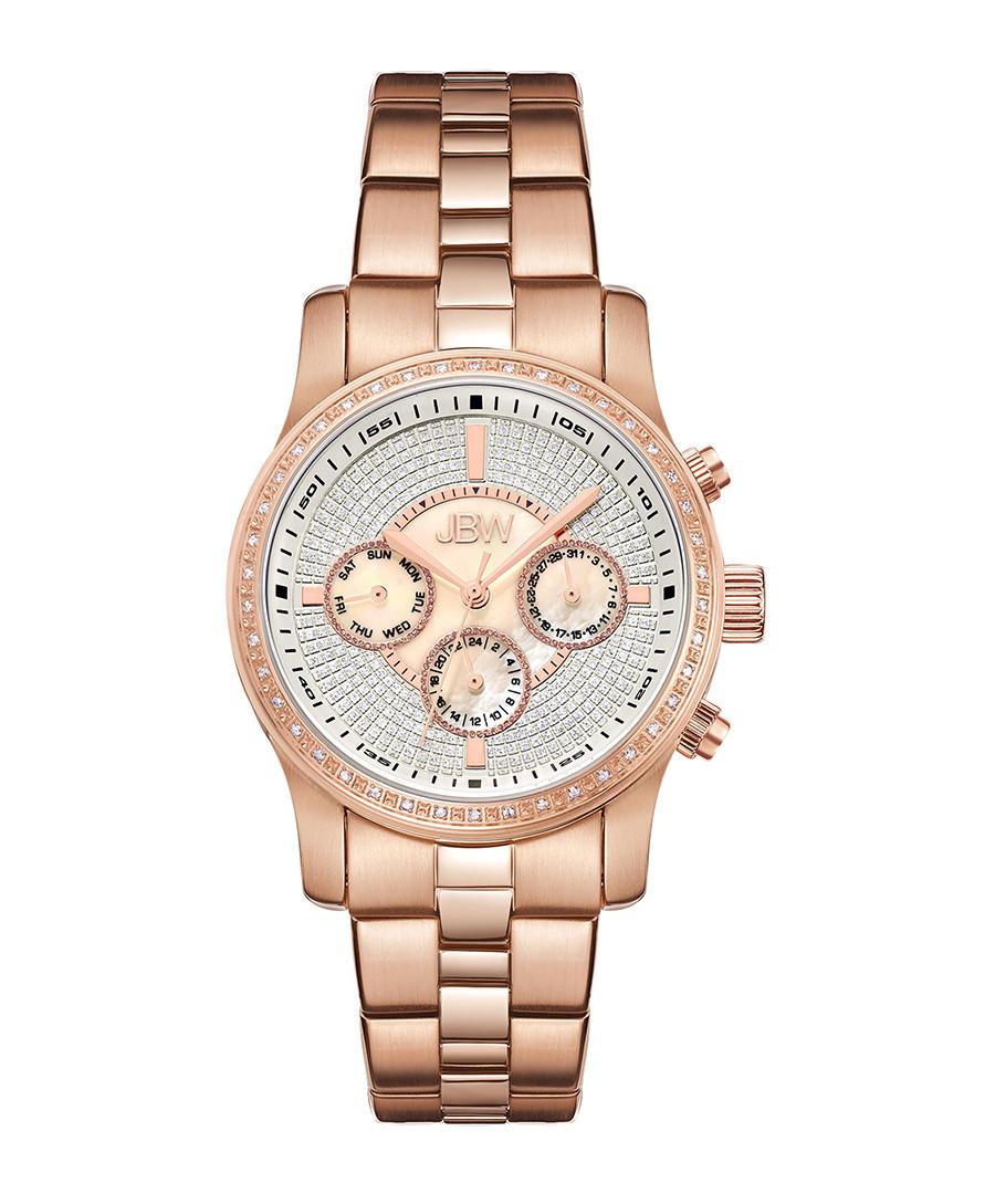 Vixen rose gold-tone & diamond watch Sale - jbw