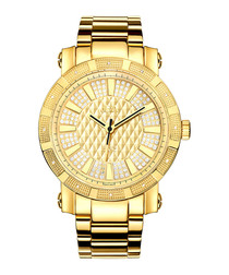 562 18ct gold-plated bracelet watch