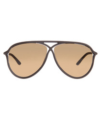 Maxmillion matte brown sunglasses