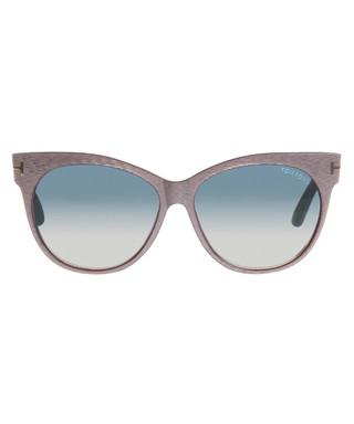 f98cbb63f38 Saskia grey   purple cat eye sunglasses Sale - TOM FORD Sale