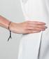 Bali silver-tone & black cord bracelet Sale - diamond style Sale