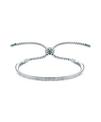 Java Lux white gold-plated bracelet