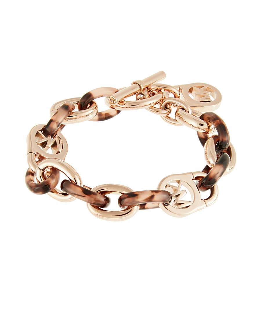 Rose gold-tone chain bracelet Sale - michael kors ... 68651496641e