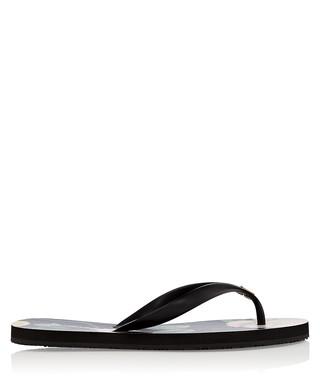 8db400876ff22b Anjou black floral print flip flops Sale - Ted Baker Sale