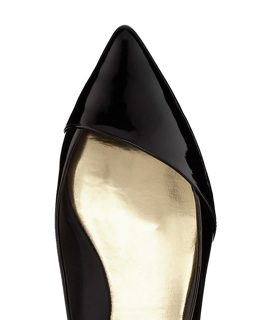 77c97e57e Discount Pasces black patent leather flats | SECRETSALES