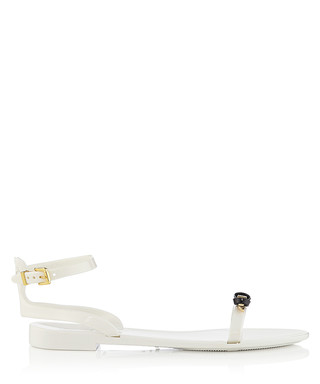 f805451addb0a7 Lavayndar white   black jelly sandals Sale - Ted Baker Sale