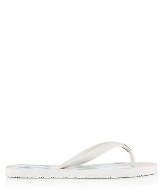 b8a043c12bdedf Anjou white floral print flip flops Sale - Ted Baker Sale