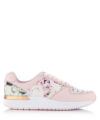 693669a643f0a9 Phressya floral leather sneakers Sale - Ted Baker Sale