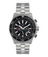 Le Commandant silver-tone & black watch Sale - andre belfort Sale
