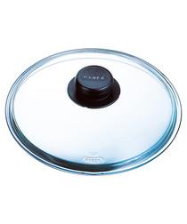 Glass saucepan lid 24cm