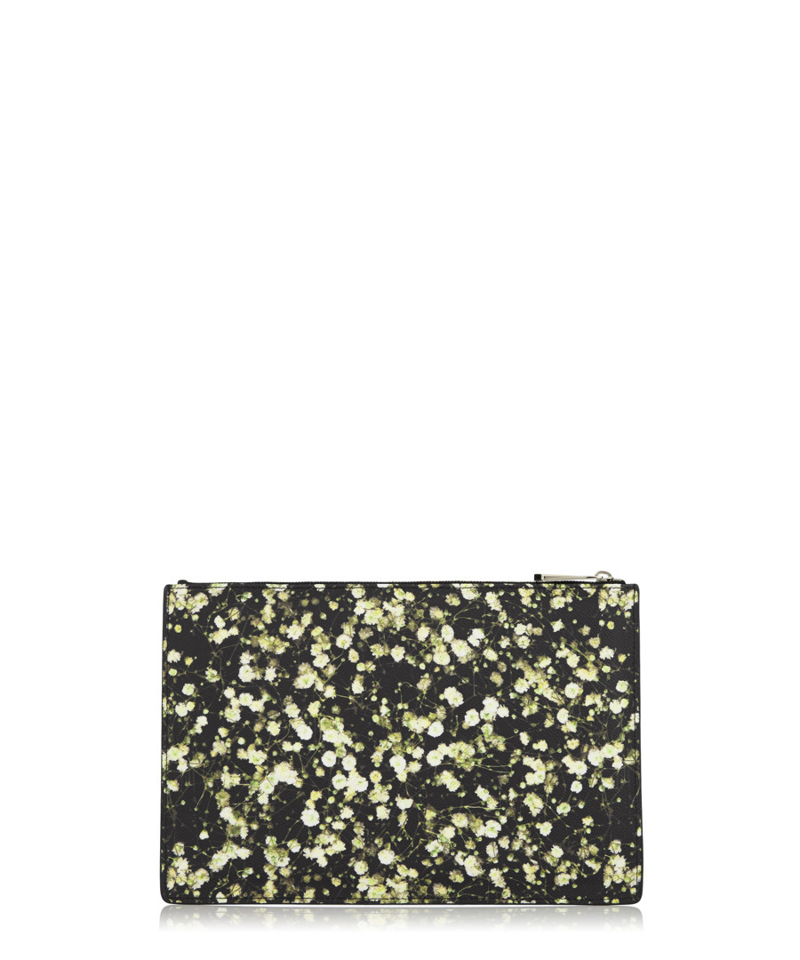 21cf0d864 ... Medium floral print coated canvas pouch Sale - givenchy ...