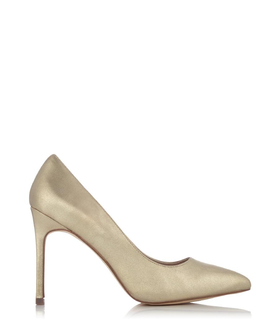 Discount Kestral pale gold heels | SECRETSALES