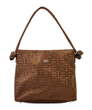 f2b82b1f664a BB khaki monogram shoulder bag Sale - VINTAGE Balenciaga Sale