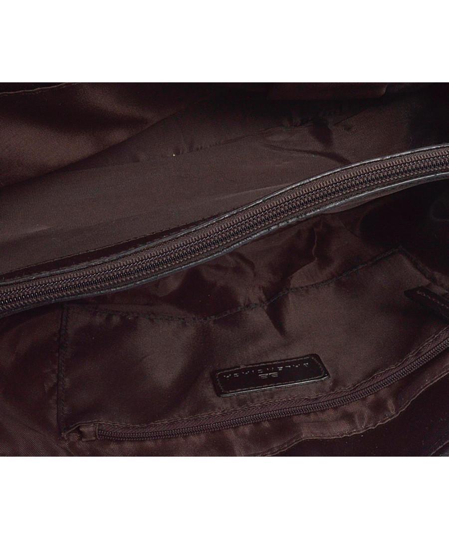 f07650f3b13e ... BB brown   beige leather base bag Sale - Vintage Balenciaga