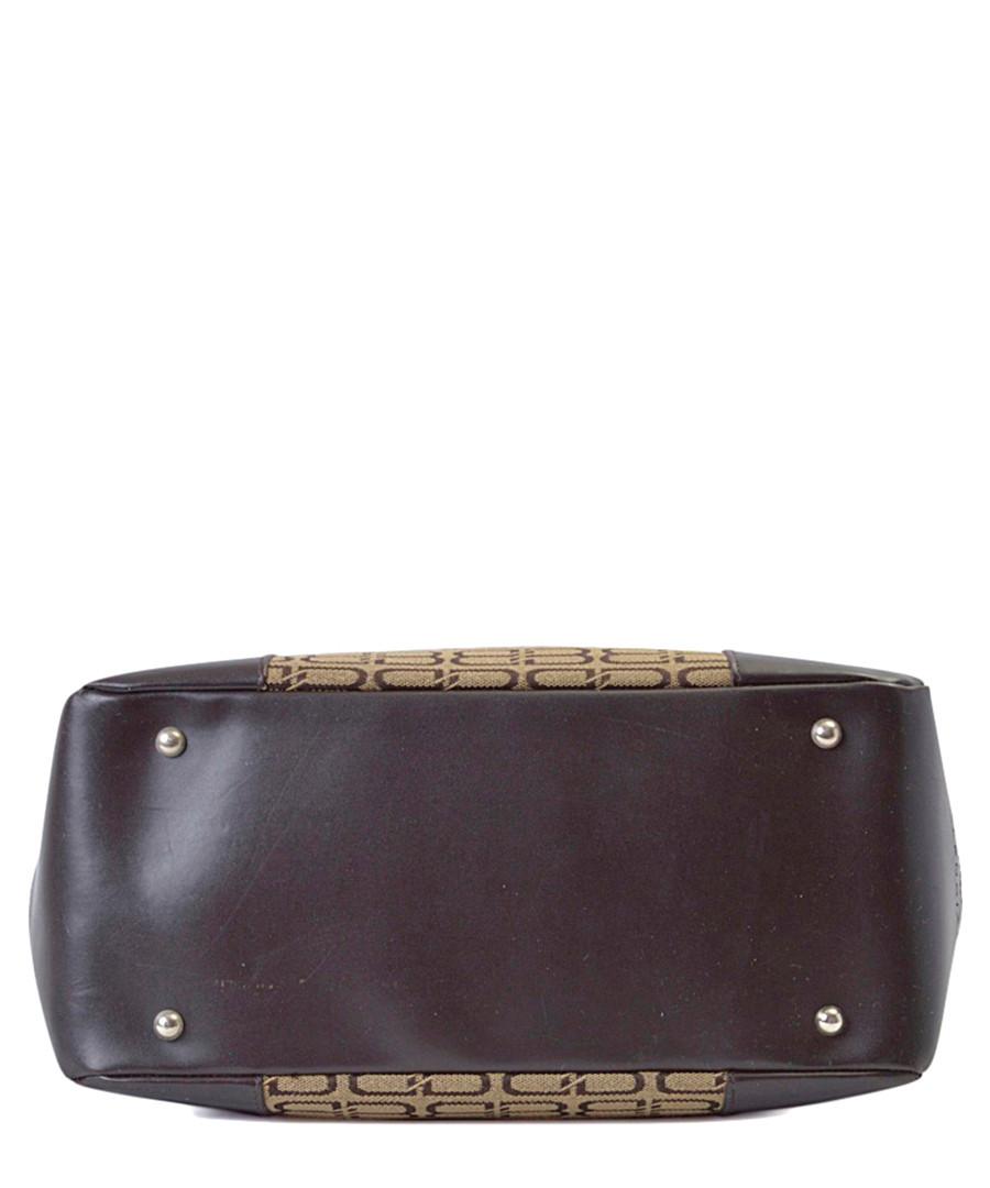 5e9958267aa3 ... BB brown   beige leather base bag Sale - Vintage Balenciaga ...