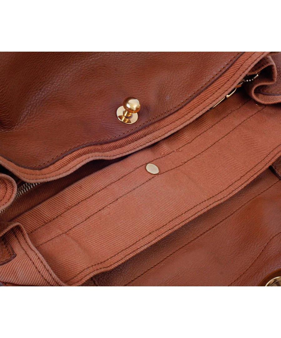 Vintage YSL Muse Two brown leather shoulder bag, Designer Bags ...