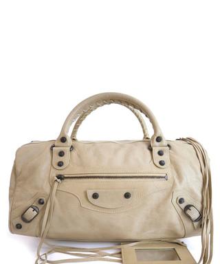 f57269d4a49e The Twiggy white leather shoulder bag Sale - VINTAGE Balenciaga Sale