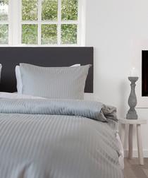 Image of Grey double duvet set