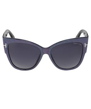 791927bd7a9 Anoushka matte violet   blue sunglasses Sale - TOM FORD Sale