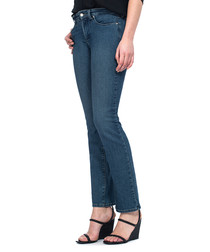 Marilyn blue cotton straight jeans